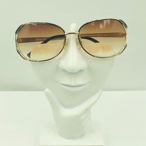 Juicy Couture Brown Oval Sunglasses Frame